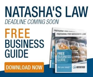 Nutritics Natashas law - Jan 2021